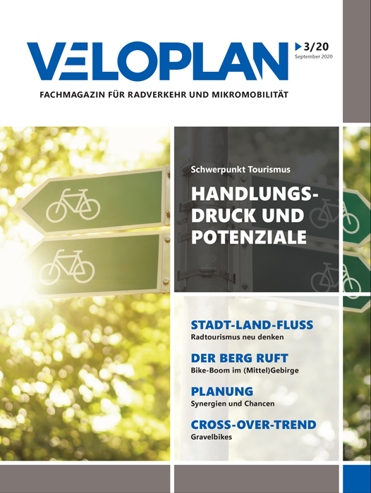 Titel VELOPLAN 03-20 Schwerpunkt Tourismus